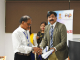 Vice-Chancellor, Royal Global University, Prof. (Dr.) S. P. Singh felicitated by Ex Vice Chancellor of Bodoland University, Prof Hemanta Kumar Baruah