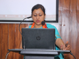 Ms. Rashmi Sharma, State Coordinator of Bachpan Bachao Andolan, Assam delivering her speech