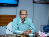 Sri. Samudra Gupta kashyap, Journalist, Author delivering his speech on NE: Unsung heroes of the Freedom Movement